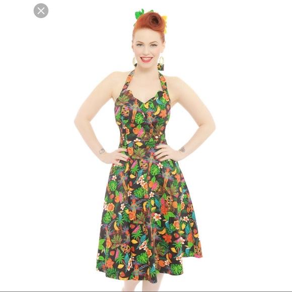 29eb9b061391 Lindy Bop Dresses   Lindy Boo Myrtle Rio Jungle Swing Dress Size Xs ...